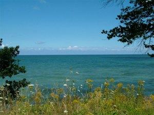 Lake Erie Scene