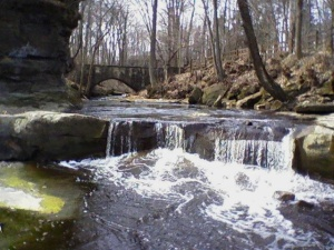 Olmsted Falls Park Scene