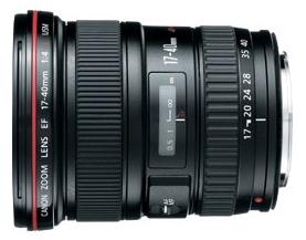Canon EF 17-40mm f/4 L