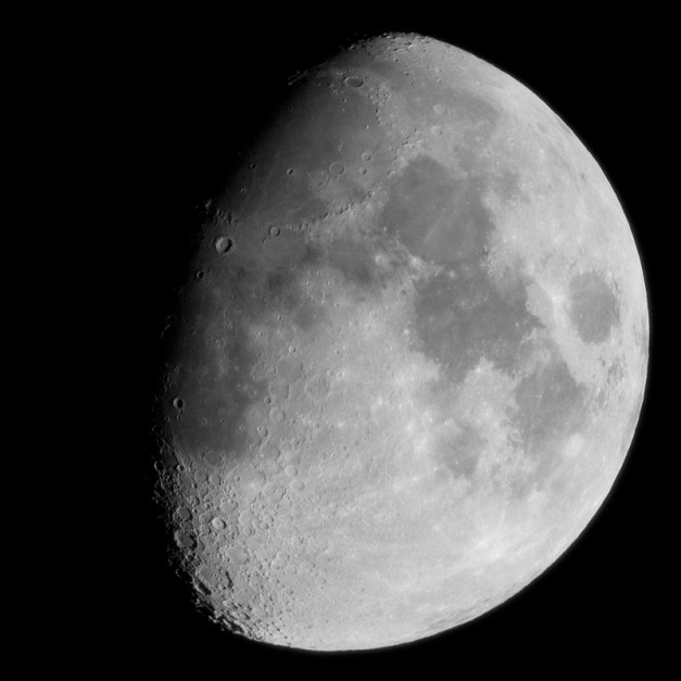 Photo: Waxing Gibbous Moon, by James Guilford.