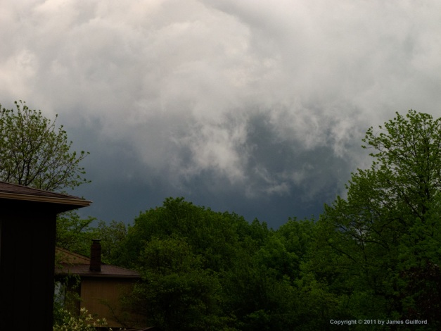 Photo: Dramatic storm clouds. Photo by James Guilford.