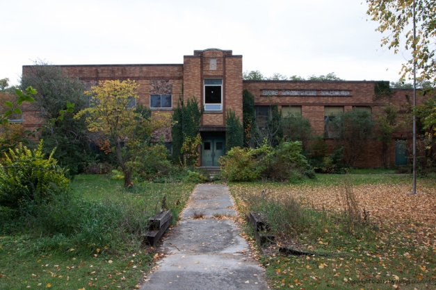Photo: Pike Township School, Winameg, Ohio. Photo by James Guilford.