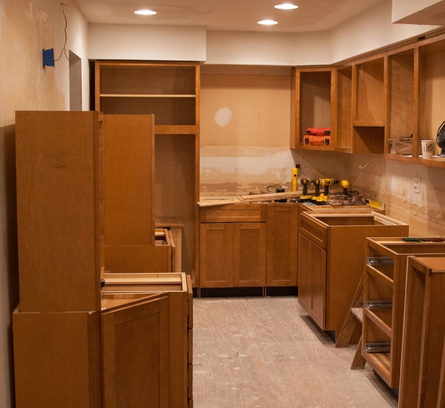 Photo: Kitchen remodel. Photo by James Guilford.