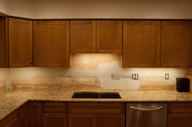 Photo: Countertop installation. Photo by James Guilford.