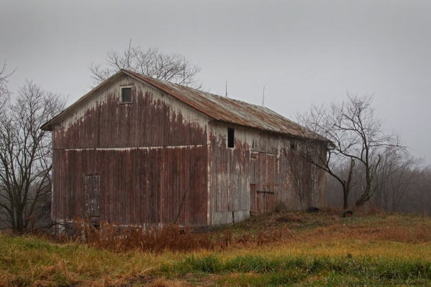 Photo: Weathered barn. Photo by James Guilford.