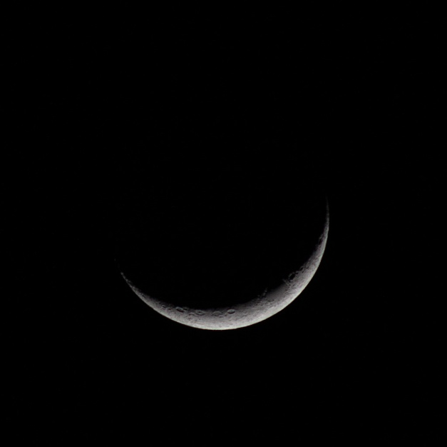 Photo: Crescent Moon. by James Guilford.