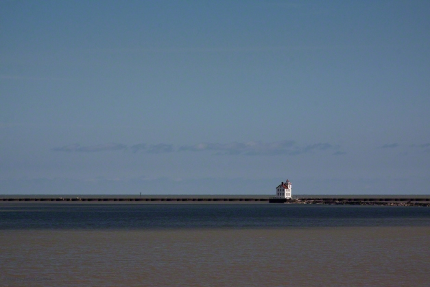 Lorain, Ohio's Lighthouse on Lake Erie. Photo by James Guilford.