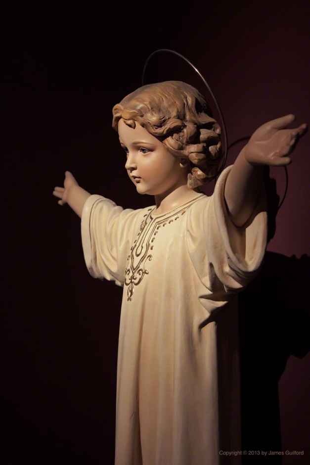 Photo: Statue of Christ Child. Photo by James Guilford.