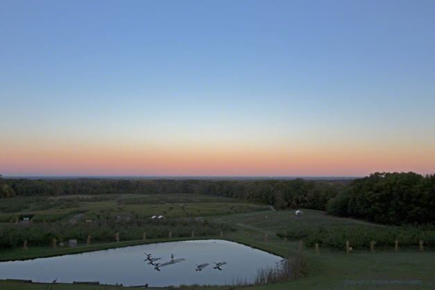 Photo: Late phase of Belt of Venus. Photo by James Guilford