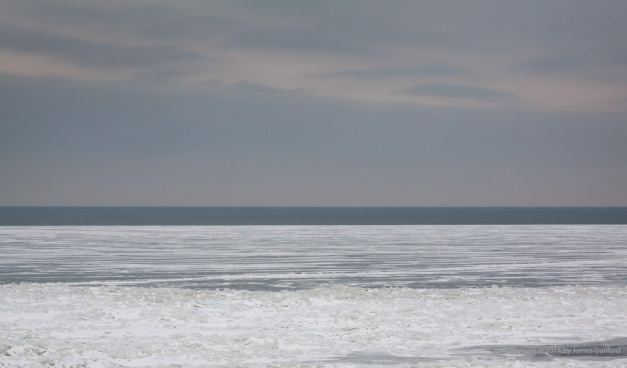 Photo: Lake Erie at the End of January 2014. Photo by James Guilford.