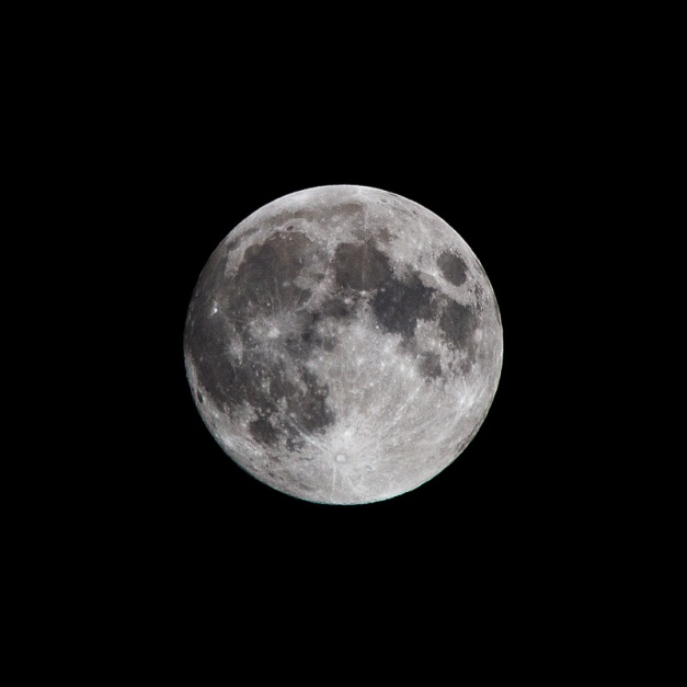 Photo: Full Moon, Oct. 7, 2014. Photo by James Guilford.