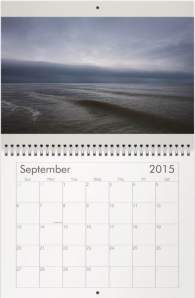 Sample View of 2015 Calendar