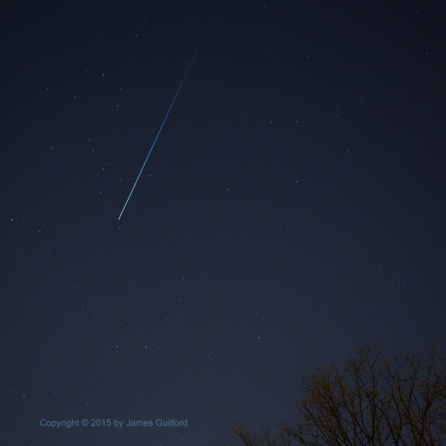 Photo: International Space Station. Photo by James Guilford.