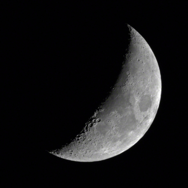 Our Moon - Waxing Gibbous - May 23. Photo by James Guilford.