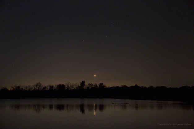 Venus in constellation Gemini Setting, May 23, 2015