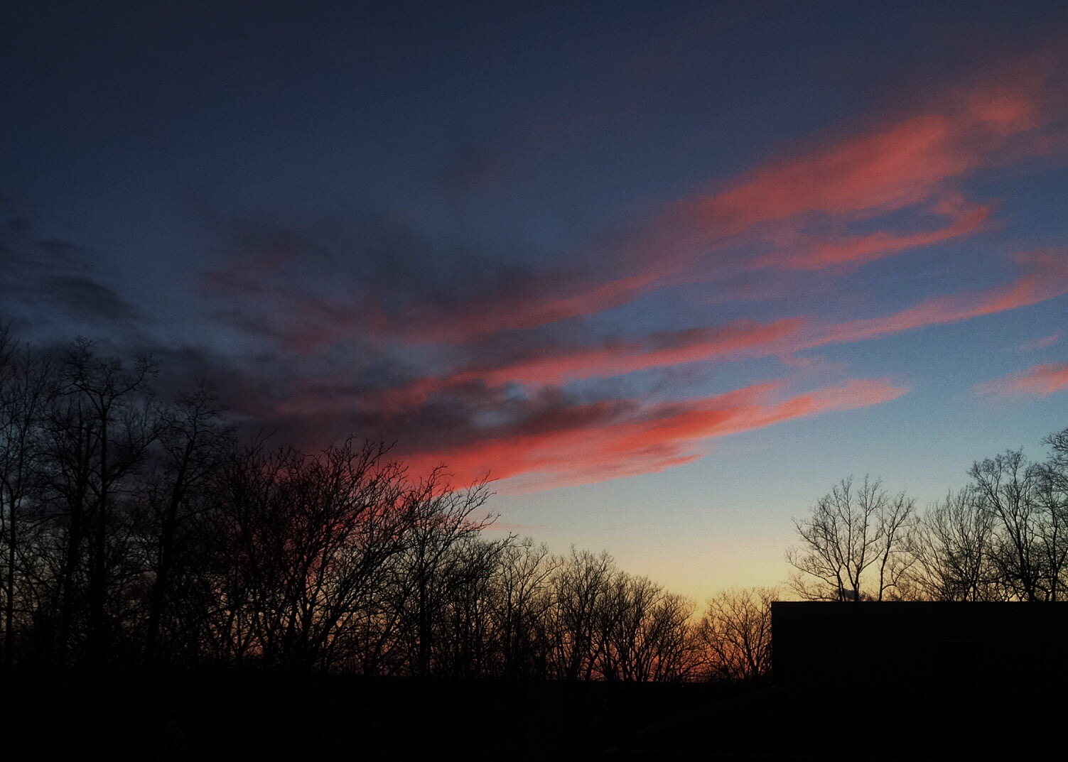 Photo: Sunset, March 16, 2016