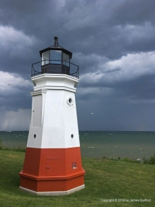 Photo: Vermilion Lighthouse. Photo by James Guilford.
