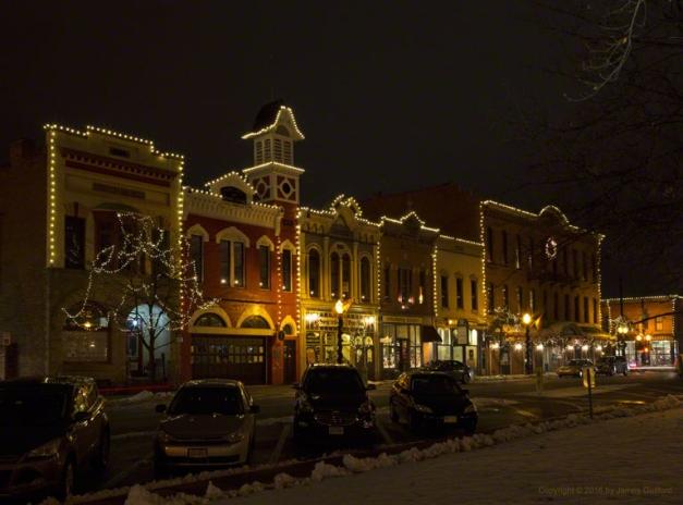 Photo: Public Square, Medina, Ohio. Photo by James Guilford.