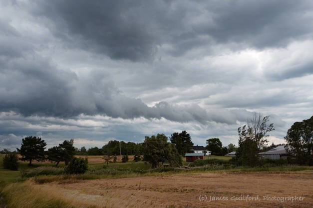 Photo: Gust Front - Heralding a Rain Storm June 20. Photo by James Guilford