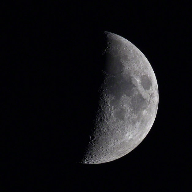 Photo: The Moon, July 29, 2017. Photo by James Guilford.