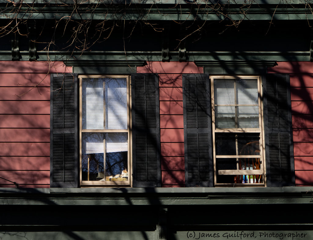 Photo: Second Storey - Sunny Day. Seen in Medina, Ohio. Photo by James Guilford.
