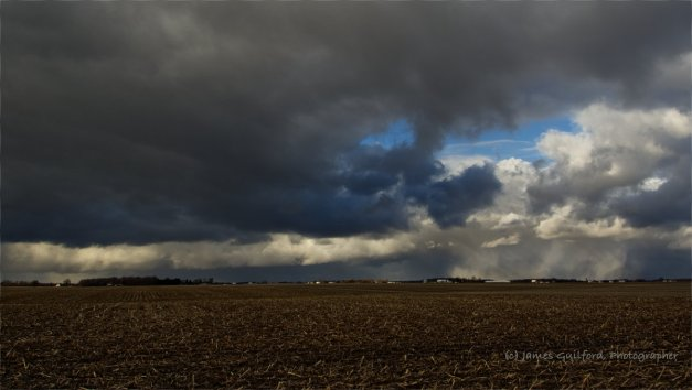 Photo: Isolated Snow Showers. Photo by James Guilford.