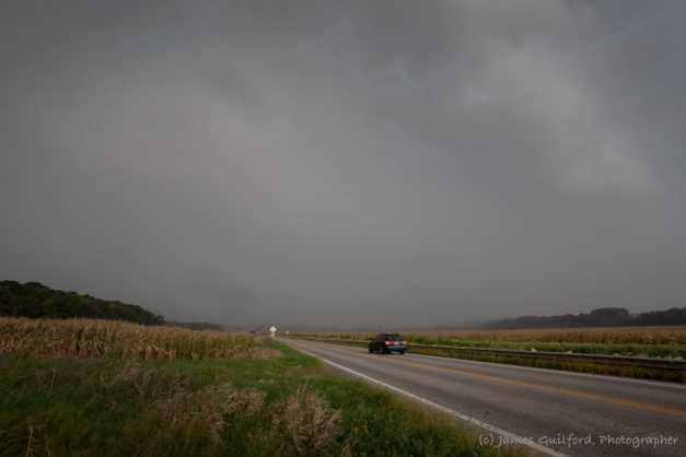Photo: Approaching rainstorm in Wayne County, Ohio. Photo by James Guilford.