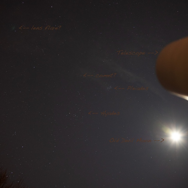 Annotated View of the Sky