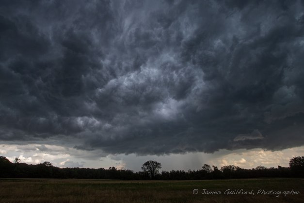 Photo: Chaotic storm cloud. Photo by James Guilford.